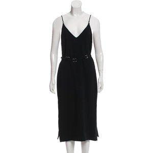 NWT Cinq à Sept Black Midi Dress 2